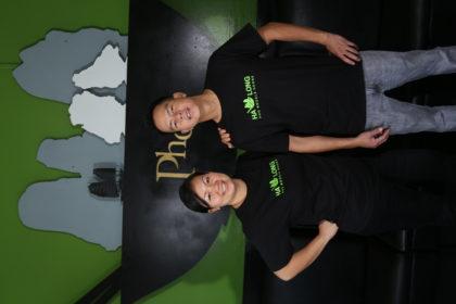Owners of Ha Long Pho Noodle House Restaurant in Honolulu, Hawaii